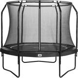Salta Trampolin Premium Black Edition, Fitnessgerät schwarz, rund, 305 cm