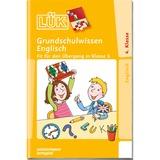 WESTERMANN LÜK-Heft: Grundschulwissen Englisch, Lernbuch