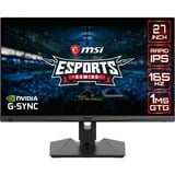 MSI Optix MAG274QRFDE-QD, Gaming-Monitor 69 cm(27 Zoll), schwarz, Rapid IPS, QHD, HDR, Adaptive-Sync, 165Hz Panel