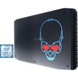 Intel® NUC 8 Enthusiast NUC8i7HVKVA, Mini-PC schwarz, Windows 10 Home 64-Bit