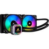 Corsair Hydro Series H100i RGB Platinum, Wasserkühlung schwarz
