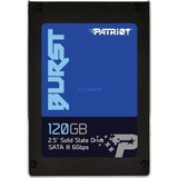 Patriot Burst 120 GB, SSD schwarz, SATA 6 Gb/s, 2,5""