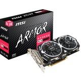MSI Radeon RX 570 ARMOR 8G OC, Grafikkarte weiß, HDMI, 3x DisplayPort, DVI-D
