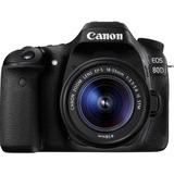 Canon EOS 80D Kit (18-55 mm, STM), Digitalkamera schwarz, inkl. Canon-Objektiv