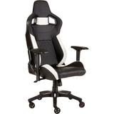 Corsair T1 RACE 2018 Gaming Chair, Gaming-Stuhl schwarz/weiß