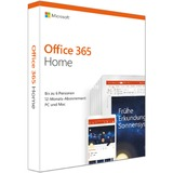 Microsoft Office 365 Home, Office-Software 1 Jahr