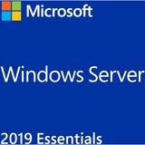 Microsoft Windows Server 2019 Essentials , Server-Software 2 CPU