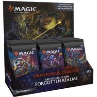 Magic: The Gathering - D&D Adventures in the Forgotten Realms Set-Booster Display deutsch, Sammelkarten