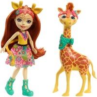 Enchantimals Themenpack Gillian Giraffe, Puppe