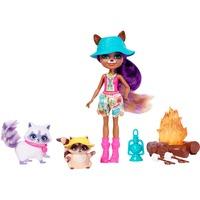 Enchantimals Themenpack Lagerfeuer-Freunde , Puppe