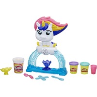 Image of Hasbro - Play-Doh - Buntes Einhorn Softeis-Set mit 3 Dosen Play-Doh