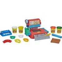 Image of Hasbro E68905L0 - Play-Doh Supermarkt-Kasse, Zubehör und 4 Play Doh Farben