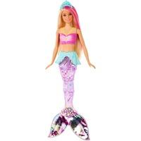 Mattel Barbie Dreamtopia Glitzerlicht Meerjungfrau (mit Licht), Puppe