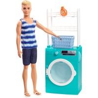 Mattel Barbie Ken und Waschmaschine Spielset, Puppe