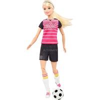 Mattel Barbie Made to Move Fußballspielerin Puppe