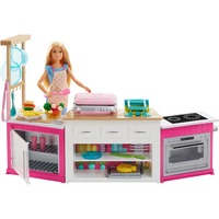 "Mattel Barbie ""Cooking & Baking"" Deluxe Küche Spielset & Puppe"
