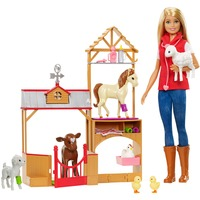 """Mattel Barbie """"Spaß auf dem Bauernhof"""" Vet, Puppe"""