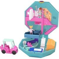 Mattel Polly Pocket Pocket World Freundinnen-Wellnesstag Schatulle, Puppe