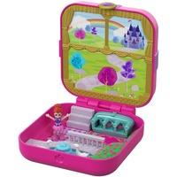Mattel Polly Pocket Verborgene Schätze Königlicher Garten, Puppe