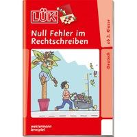 WESTERMANN LÜK-Heft: Null Fehler im Rechtschreiben, Lernbuch