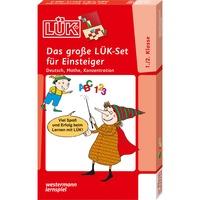 WESTERMANN LÜK: Das große LÜK-Set für Einsteiger, Lernbuch Deutsch, Mathe, Konzentration