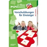 WESTERMANN miniLüK-Set: Vorschulübungen für Einsteiger, Lernbuch