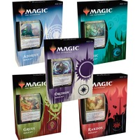 Wizards of the Coast Magic: The Gathering - Ravnica Allegiance Gilden-Kits Display englisch, Sammelkarten