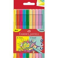 Grip Filzstift Neon + Pastell, 10er Kartonetui