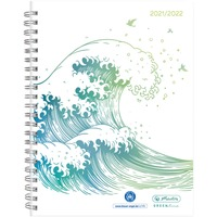 Schülerkalender GREENline Welle A5 21/22 Wochenkalendarium