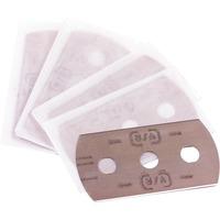 Ersatzklingen für Glaskeramik-Schaber, 5 Stück, Ersatzmesser