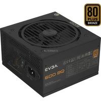 Evga 600 BQ 80 BRONZE 600W, PC-Netzteil
