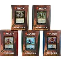Magic: The Gathering - Strixhaven: Adademie der Magier Commander-Decks Display deutsch, Sammelkarten
