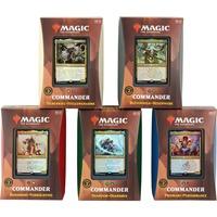 Magic: The Gathering - Strixhaven: School of Mages Commander-Decks Display englisch, Sammelkarten