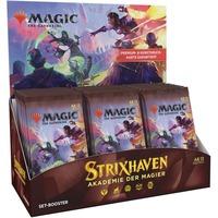 Magic: The Gathering - Strixhaven: Adademie der Magier Set- Booster Display deutsch, Sammelkarten