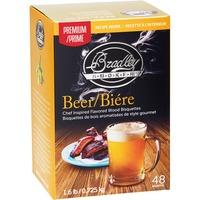 Bier Premium-Bisquetten, 48 Stück, Räucherholz