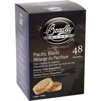 Pacific Melange Bisquetten, 48 Stück, Räucherholz