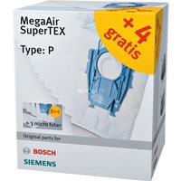 Siemens Staubsaugerbeutel MegaAir SuperTEX VZ123FP 12 3 Typ P