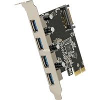 Delock PCI Express Karte 4x USB 3.0, USB-Controller