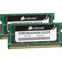 Corsair ValueSelect SO-DIMM 8 GB DDR3-1333 Kit, Arbeitsspeicher