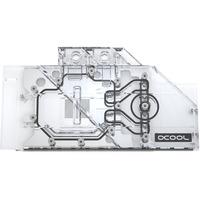 Alphacool Eisblock Aurora Acryl GPX-A AMD Radeon 5600 5700 XT Sapphire Pulse MSI Mech Evoke , Wasserkühlung