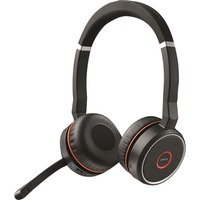 Jabra Evolve 75 MS Duo, Headset schwarz