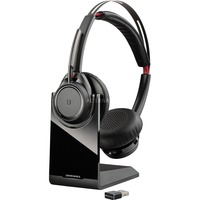 Plantronics Voyager Focus UC B825, Headset schwarz, inkl. Dockingstation