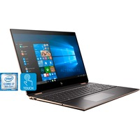 HP Spectre x360 15-df0108ng, Notebook dunkelgrau/kupfer, Windows 10 Home 64-Bit