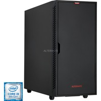 ALTERNATE ULTIMATE GAMING, Komplett-PC schwarz, Windows 10 Home 64-Bit (OEM)