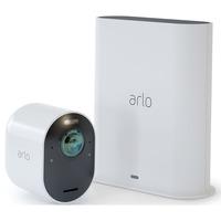 Arlo Ultra Wireless System, Überwachungskamera weiß, Basistation + 1 Arlo Ultra Kamera