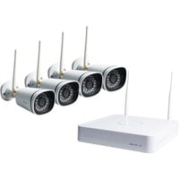 Foscam FN3104W-B4, Netzwerk-Videorekorder 4 Kanal NVR, 4 720p Kameras