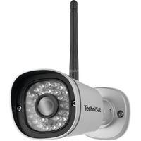 TechniSat TechniHome Außenkamera 1, Netzwerkkamera grau