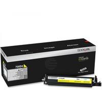 Lexmark Entwickler gelb 70C0D40, Wartungseinheit gelb