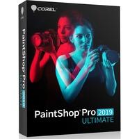 Corel PaintShop Pro 2019 Ultimate , Grafik-Software Mini-Box