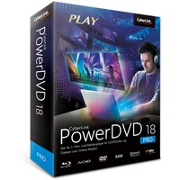CyberLink PowerDVD 18 Pro, Multimedia-Software